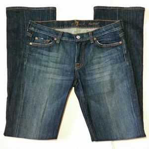 7FAM 7 for All Mankind BOOTCUT blue jeans Sz 29